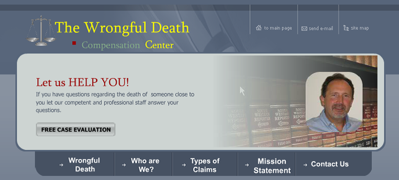 Wrongful death compensation center